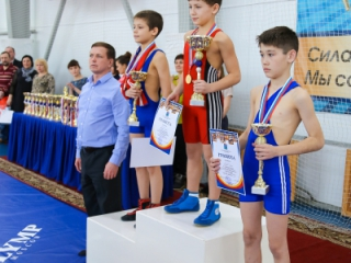 Областной турнир по греко-римской борьбе