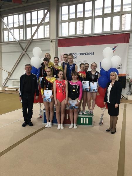 3 место команда Иркутской области на батуте